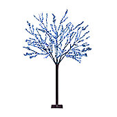 Snowtime Cherry Blossom Tree - Electric Blue - 150 cm H