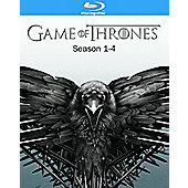 Game Of Thrones: Season 1-4 Blu-ray