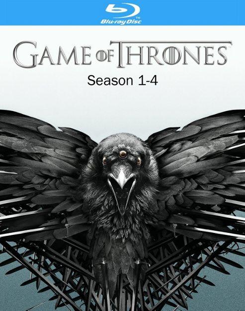 Game Of Thrones: Season 1-4 Blu-ray