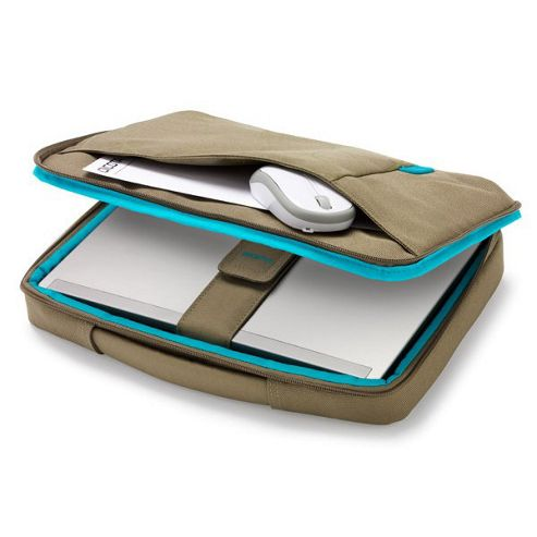 Dicota Bounce Slim Case (Green/Blue) for 13 inch to 14.1 inch Notebook