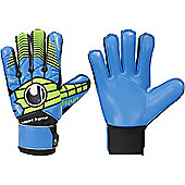 Uhlsport Eliminator Soft Sf Junior Goalkeeper Gloves - Blue