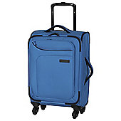 IT Luggage Megalite 4-Wheel Suitcase, Methyl Blue Small