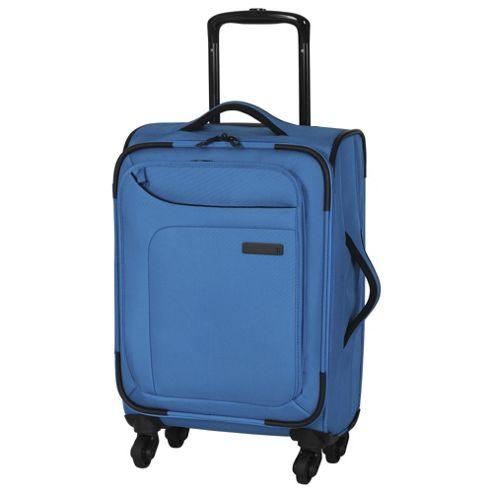 buy it luggage megalite 4 wheel small methyl blue suitcase. Black Bedroom Furniture Sets. Home Design Ideas
