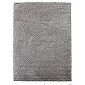 Frugs Snug 4cm Plain Rug Silver - 140X200 cm