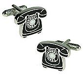 Classic Telephone Novelty Themed Cufflinks