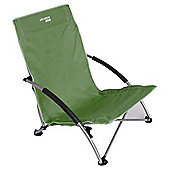 Yellowstone Low Profile Folding Camping Chair, Green
