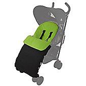 Footmuff For Buggy Puschair Stroller Pram Lime