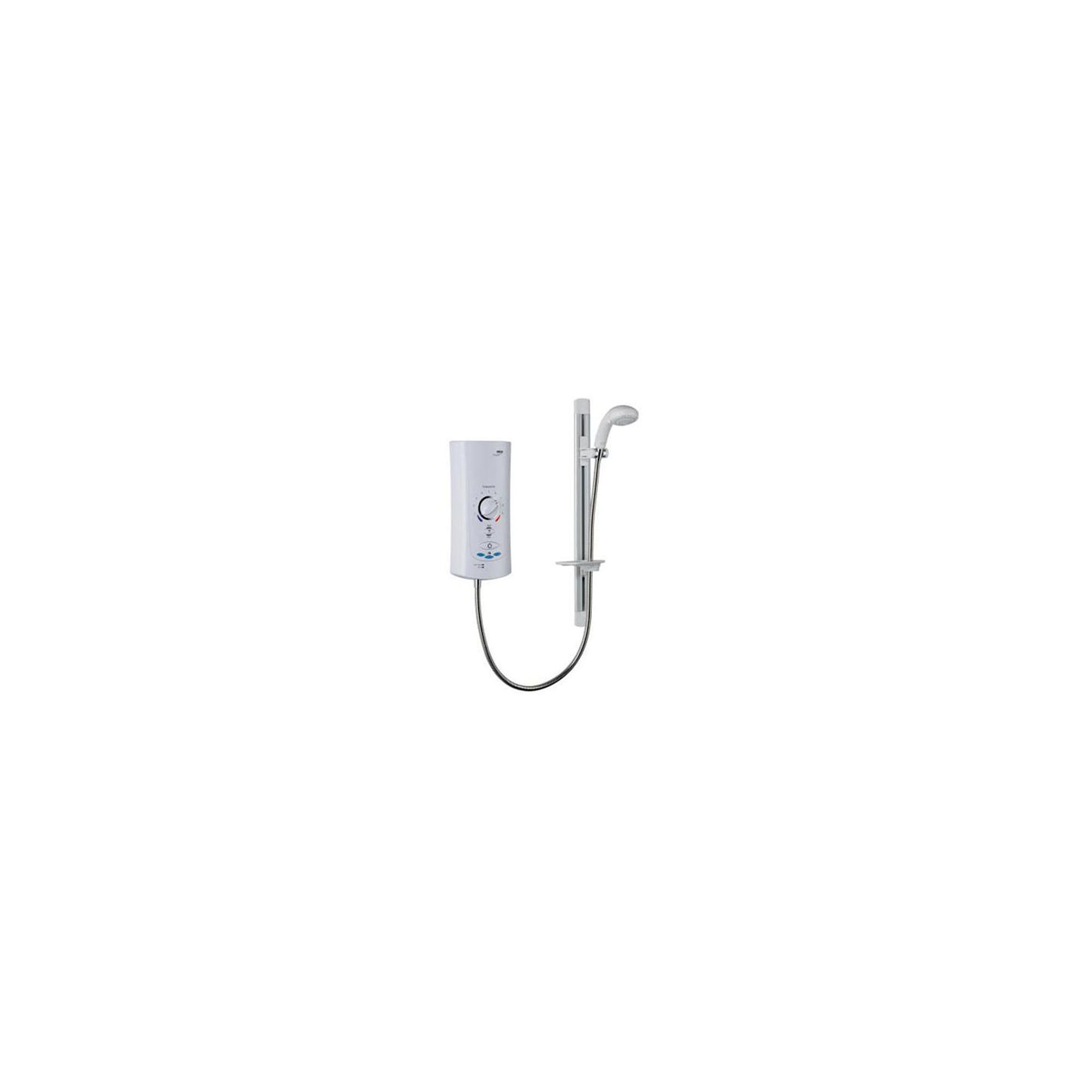 Mira Advance ATL Memory 9.0 kW Electric Shower, Handset, White/Chrome at Tesco Direct