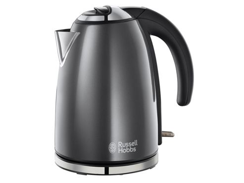 Russell Hobbs Colours Jug Kettle, 1.7L - Grey