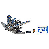 Marvel Guardians of the Galaxy - Rocket Raccoon Warbird With Figure