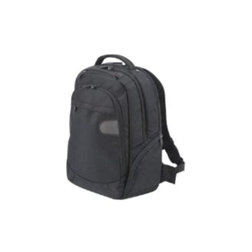 Dicota BacPac Challenge Backpack (Black) for 16.4 inch Notebooks