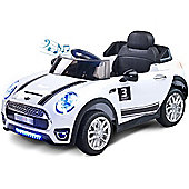 Caretero Maxi Battery Operated Ride-On Car (White)