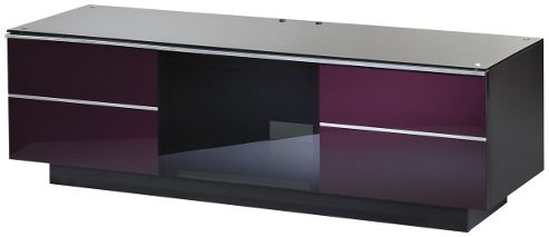 UK-CF Ultimate Damson TV Stand For Up To 65 inch TVs