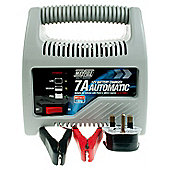 Automatic Battery Charger 7 amp - suitable for engine sizes up to 1800cc