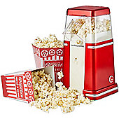 Andrew James Classic Popcorn Maker in Red