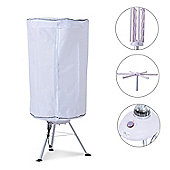 Homcom Hot Air Clothes Dryer 900W Electric Indoor Home Laundry Drying