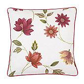 Rectella Charlotte Autumn Print Contrast Piped Cushion Cover - 46x46cm
