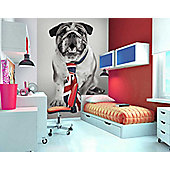 1Wall Great British Bulldog Wall Mural