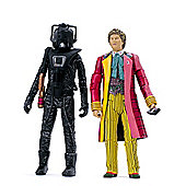 Doctor Who Exclusive Action Figure Set - Sixth Doctor & Stealth Cyberman from 'Attack of the Cybermen'