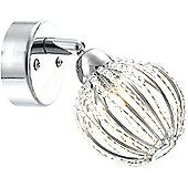Home Essence Degray 1 Bulb Wall Light