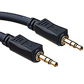 Cables to Go Male to Male 3 m Velocity 3.5 mm Stereo Audio Cable - Black