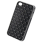 Tortoise™ Hard Case iPhone 4/4S Diamante Quilt Black
