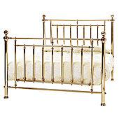 Serene Furnishings Solomon Bed Frame - Brass - Super King (6')