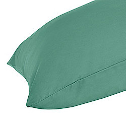 Homescapes Teal Egyptian Cotton Housewife Pillow Case 200 TC