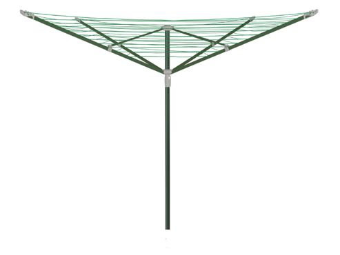 Addis 508038 Rotary Airer 4Arm 50M Green