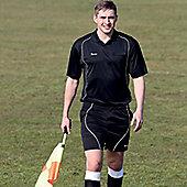 Precision Referees Short Sleeve Shirt Black/White - Black & White