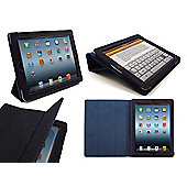 Orzly Tri-Fold Case for Apple iPad 2, 3, 4 - Denim Blue