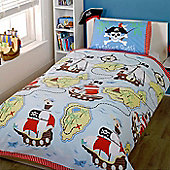 Pirate, Treasure Quest Single Bedding