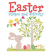 Tesco Easter A4 Sticker Activity