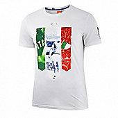 2014-15 Italy Puma Badge T-Shirt (White) - Kids - White