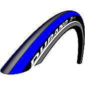 Schwalbe Durano S Tyre: 700c x 23mm Blue Stripes Folding. HS 376, 23-622, Performance Line, RaceGuard