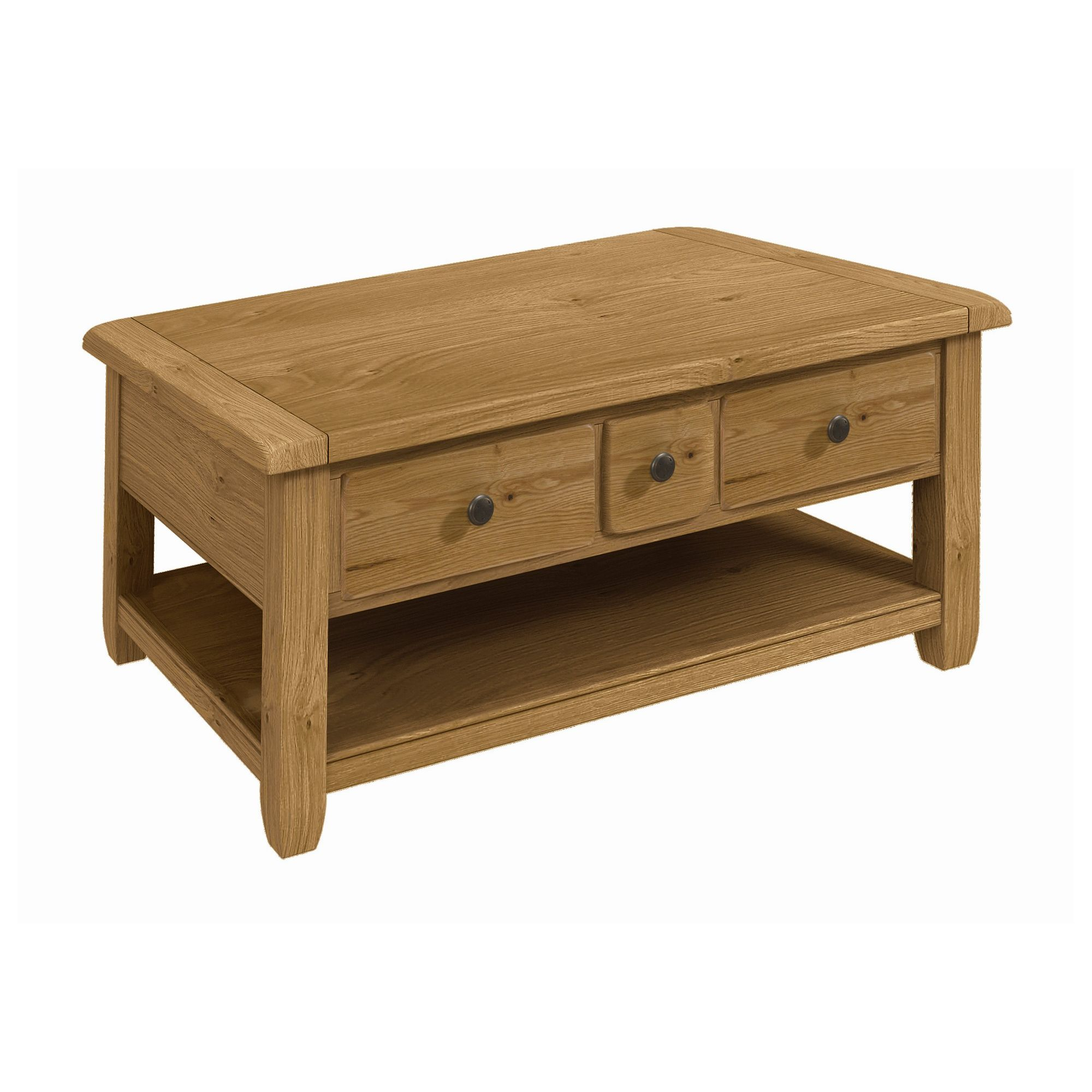 Alterton Furniture Cherry Creek Oak Storage Coffee Table at Tesco Direct