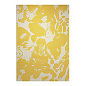 Esprit Energize Yellow Woven Rug - 133 cm x 200 cm (4 ft 4 in x 6 ft 7 in)
