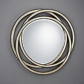 Schuller Modern Interweaved Fretwork Rings Mirror