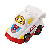 Vtech Toot Toot Bundle - Press And Go Launcher Deluxe And Vtech Baby Toot Toot Drivers White Racer 2 Items Supplied
