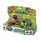 Teenage Mutant Ninja Turtles Half-Shell Heroes Patrol Buggy With Racer Leo