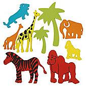 Zoo Foam Stickers 50pcs