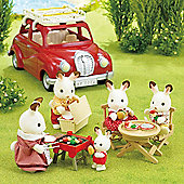 Roof Rack With Picnic Set - Sylvanian Families Figures 5048