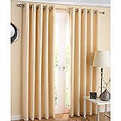 Enhanced Living Santiago Eyelet Cream Curtains 229X183cm