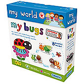 My World My Bugs 2/3 pcs age 18m+