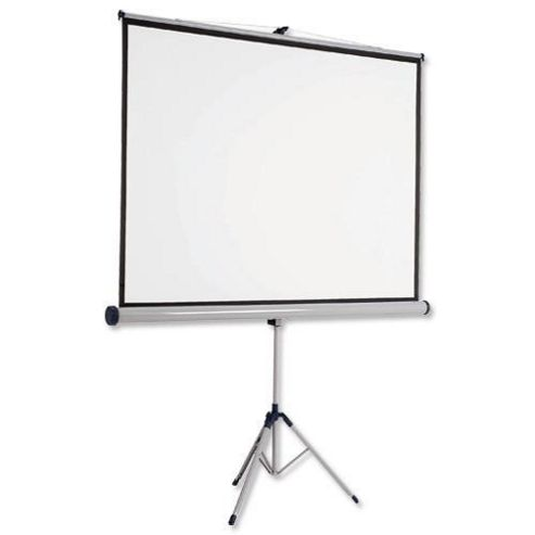 Kensington 4:3 1750x1325 Tripod Projection Screen (Matte White)