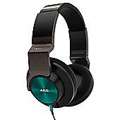 AKG K545 HEADPHONES (BLACK/TURQUOISE)