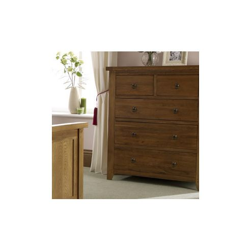 Home Zone Hasting 3 plus 2 Drawer Chest