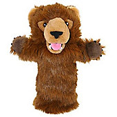 The Puppet Company Long Sleeved Glove Puppet Grizzly Bear