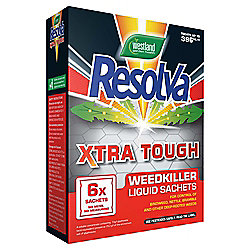 Resolva Xtra Tough Weedkiller Sachets, 6 pack