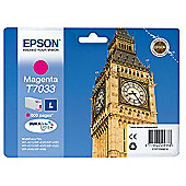 Epson WP4000/4500 Series Ink Cartridge L Magenta 0.8k